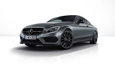Mercedes-AMG C43 Coupe Night Edition - front three-quarter