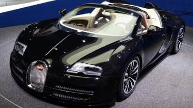 Frankfurt motor show 2013 Bugatti Veyron Jean