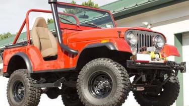 Bonhams Spa Classic - Jeep CJ
