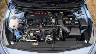 Hyundai i20 N - engine bay