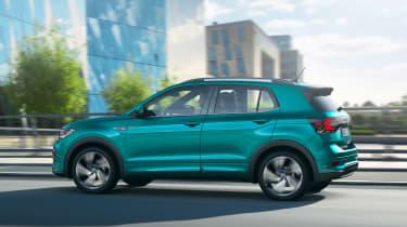 Volkswagen T-Cross revealed - rear quater