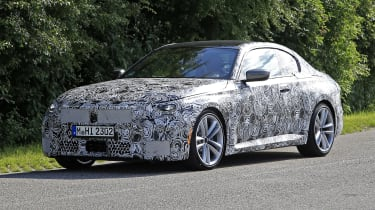 BMW 2-series proto 2021
