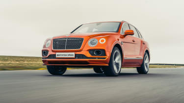 Bentley Bentayga Speed - front quarter
