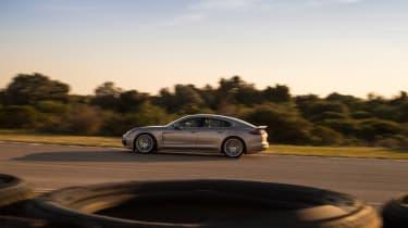 Porsche Panamera Turbo S E-Hybrid ride - side profile