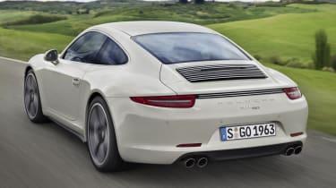 Porsche 911 50 Years Edition Geyser Grey rear