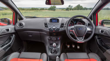 Ford Fiesta ST five-door - Interior