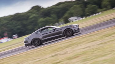 evo track evening - Mustang driving