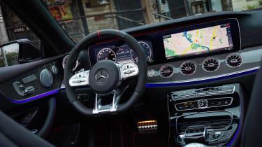 Mercedes-AMG E53 Cabriolet US - dash