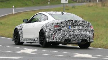 BMW M4 CSL spy 2021 – 16