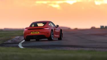 Porsche 718 Cayman - rear cornering
