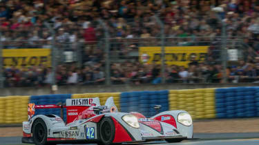 Nissan and Mardenborough promoted to Le Mans podium