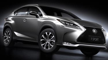 Lexus NX SUV revealed