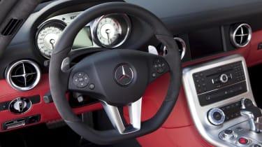 Mercedes SLS AMG 'Black' by Kicherer, interior picture