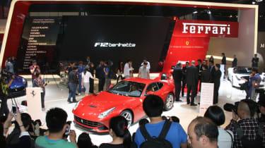 Beijing Show: Ferrari HY-KERS