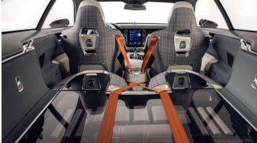 Volvo Concept Estate boot space