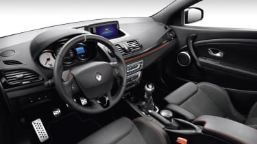 Renaultsport Megane Red Bull RB8 Racing interior
