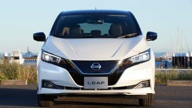 Nissan Leaf drive Japan - front
