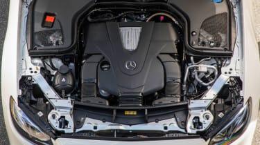 Mercedes-Benz E400 4Matic Cabriolet - Engine