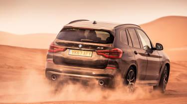 BMW X3 30d M Sport - rear