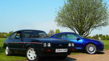 Ford Capri 280 Brooklands v Ford Racing Puma