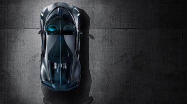 Bugatti Divo - top