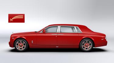 Bespoke Rolls-Royce Phantoms ordered