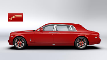 Bespoke Rolls-Royce Phantoms ordered