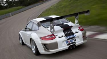 New 2012 Porsche 911 GT3 Cup racer