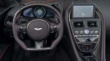 Aston Martin DBS Superleggera Volante interior