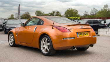Nissan 350Z – rear quarter