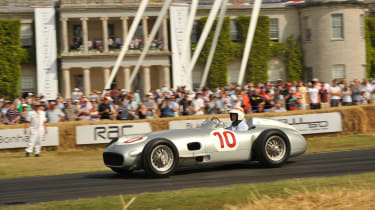 British F1's greatest moments - Mercedes at Goodwood