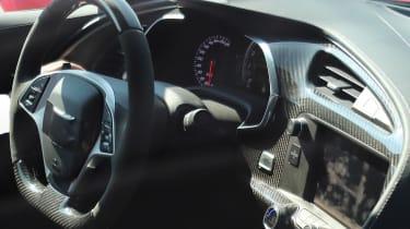 Chevrolet Corvette ZR1 spied - interior