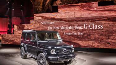 Mercedes G-Class show - front