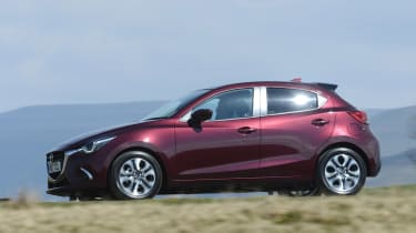 2017 Mazda 2 - purple dynamic