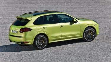 Porsche Cayenne GTS yellow green