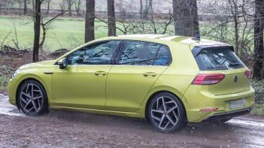 Volkswagen Golf 8 spy - rear quarter
