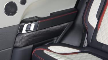 Overfinch Range Rover Sport interior detail