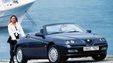 Alfa Romeo Spider - Front