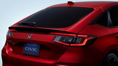 2022 Honda Civic Type R prototype – rear lights