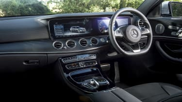 Mercedes E400d Estate review - interior