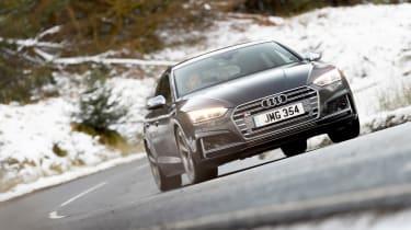 Audi S5 Sportback front cornering