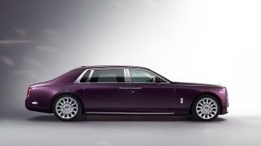 Rolls-Royce Phantom - side profile