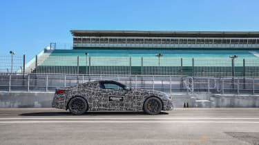 BMW M8 prototype - side