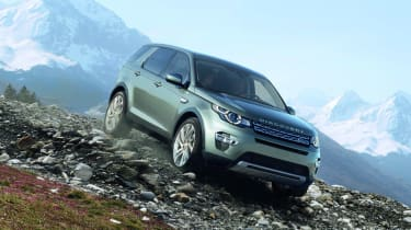 Land Rover Discovery Sport off roading
