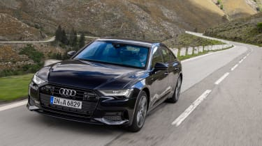 2018 Audi A6 - front tracking
