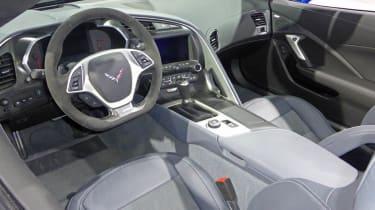 Chevrolet Corvette Z06 Convertible interior