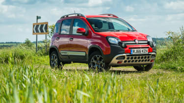 Fiat Panda Cross - Front