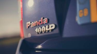 Fiat Panda 100 - badge