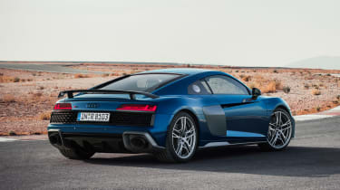 Audi R8 facelift - r\