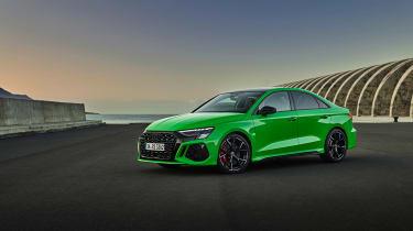 2021 Audi RS3 Saloon –front quarter